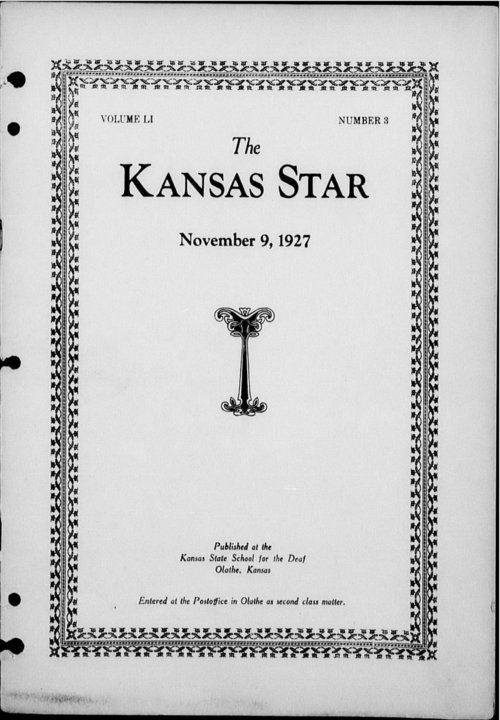 The Kansas Star, volume 51, number 3 - Page