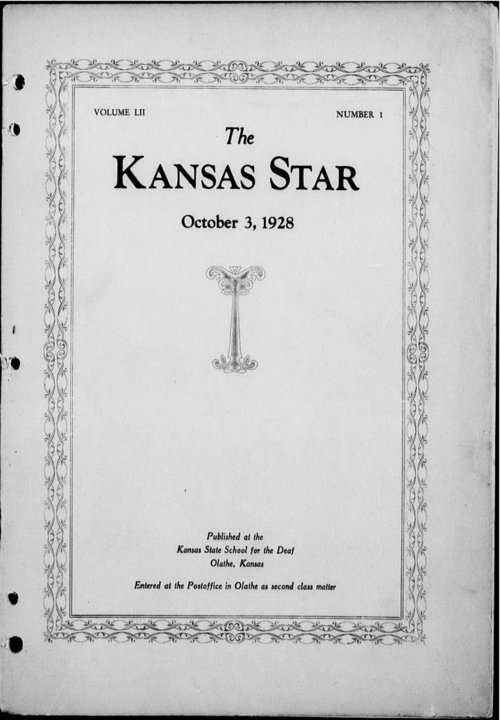 The Kansas Star, volume 52, number 1 - Page