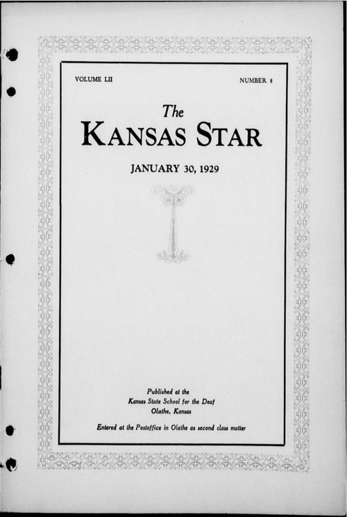 The Kansas Star, volume 52, number 8 - Page