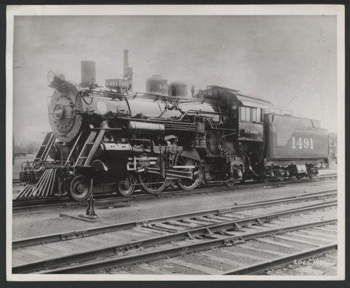 Atchison, Topeka & Santa Fe Railway Company's steam locomotive #1491 - Page