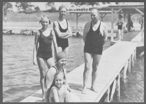 People swimming at Lake Quivira, Kansas - Page
