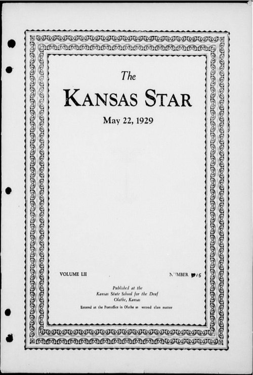 The Kansas Star, volume 52, number 15 - Page