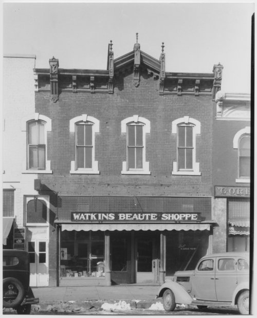 Watkins Beaute Shoppe and Floy's Barber Shop in McPherson, Kansas - Page