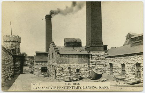 Coal mine no. 1 at the Kansas State Penitentiary - Page