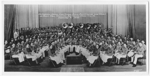 McPherson High School band performing in Kansas City, Missouri - Page