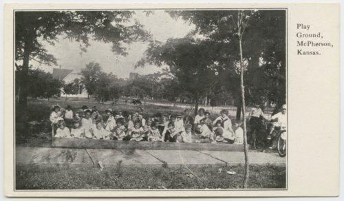 Playground in McPherson, Kansas - Page