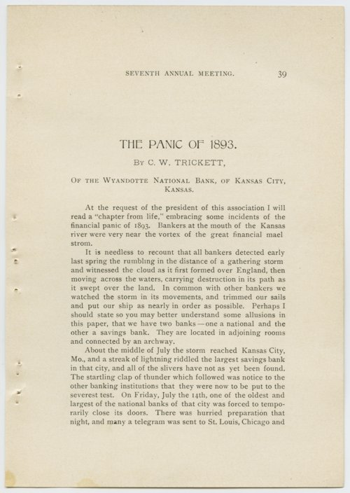 The Panic of 1893 - Page