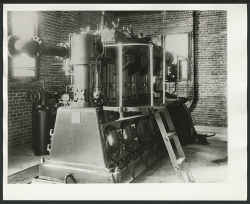 Machinery at the Electric Light Plant, Liberal, Kansas - Page