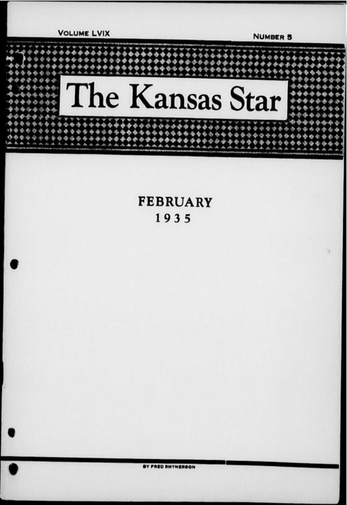 The Kansas Star, volume LVIX, number 5 - Page
