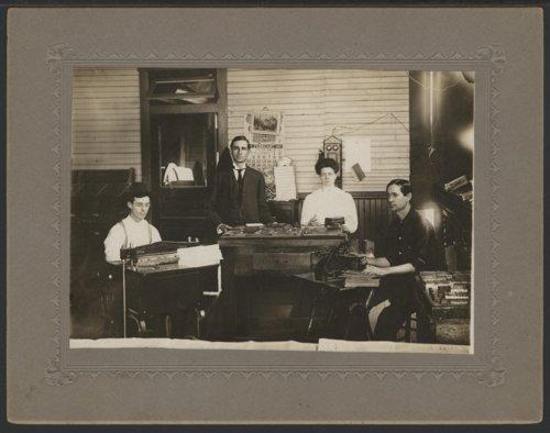 Newspaper office, Liberal, Kansas - Page