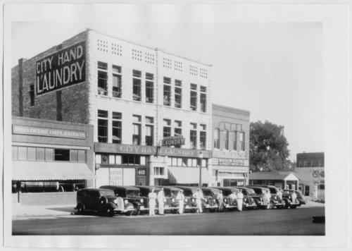 City Hand Laundry, Topeka, Kansas - Page