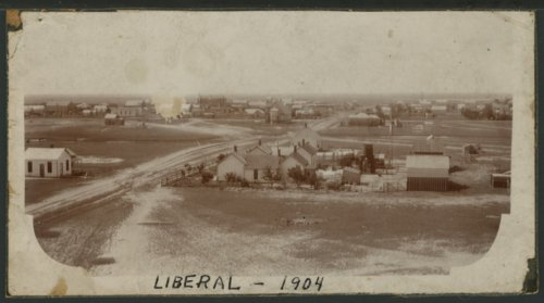 View of Liberal, Kansas - Page