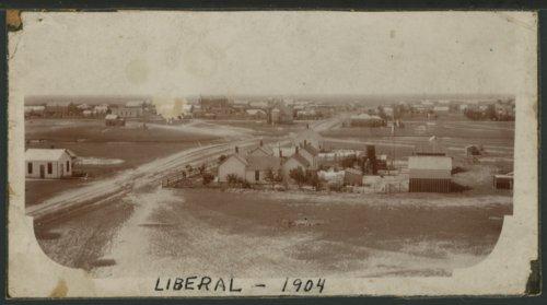 View of Liberal, Kansas - Page