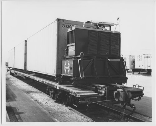 Atchison, Topeka & Santa Fe Railway Company's refrigerated container - Page