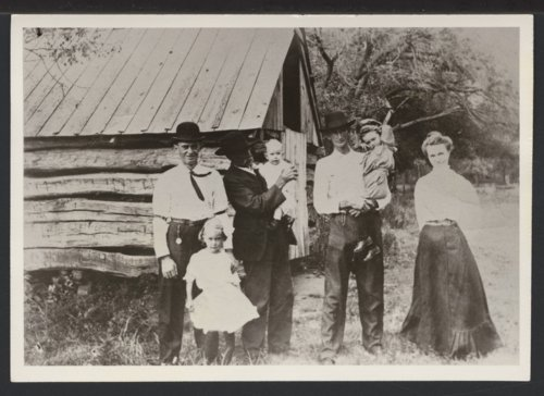Bert Kennedy and family, Seward or Barber County, Kansas - Page