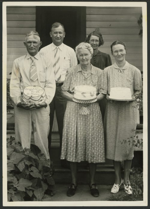 Ella Bird Lott's eightieth birthday, Liberal, Kansas - Page
