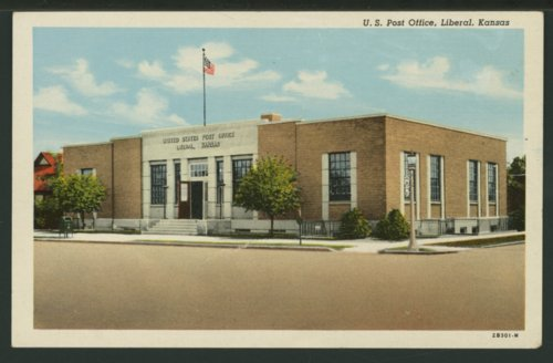 United States Post Office in Liberal, Kansas - Page