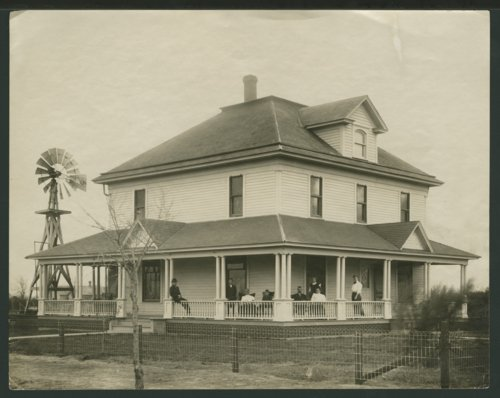 Farm house in Seward County, Kansas - Page