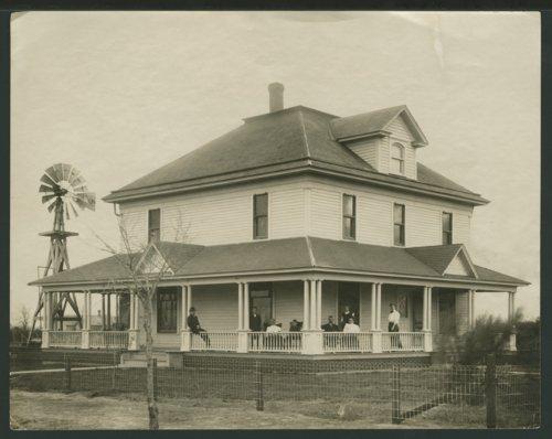 Farm house in Seward County, Kansas - Page