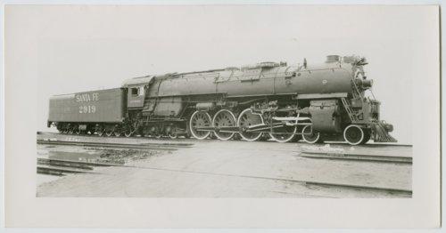 Atchison, Topeka & Santa Fe Railway Company's steam locomotive #2919 - Page