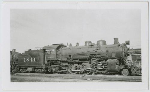 Atchison, Topeka & Santa Fe Railway Company's steam locomotive #1841 - Page