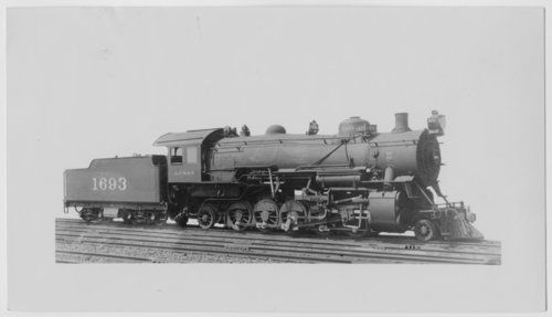 Atchison, Topeka & Santa Fe Railway Company's steam locomotive #1693 - Page
