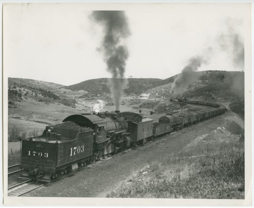 Atchison, Topeka & Santa Fe Railway Company's steam locomotive #1703 - Page