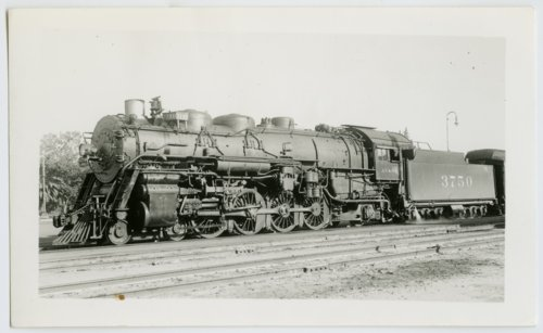Atchison, Topeka & Santa Fe Railway's steam locomotive #3750 - Page