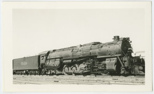 Atchison, Topeka & Santa Fe Railway's steam locomotive #5010 - Page