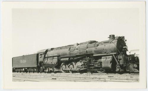Atchison, Topeka & Santa Fe Railway's steam locomotive #5010 - Page