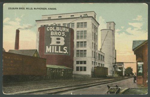 Colburn Brothers Mill, McPherson, Kansas - Page