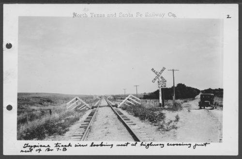 North Texas & Santa Fe Railway Company railroad crossing - Page