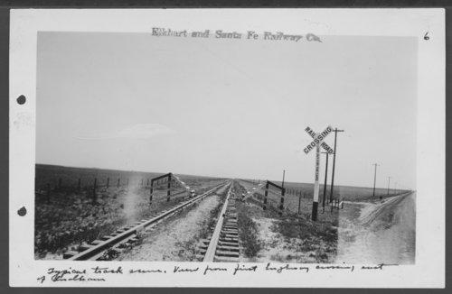 Elkhart & Santa Fe Railway Company tracks, Keyes, Oklahoma - Page