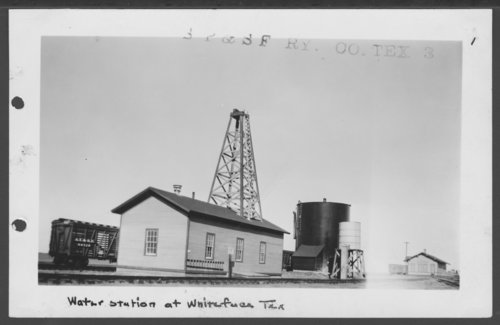 South Plains & Santa Fe Railway Company depot, Whiteface, Texas - Page