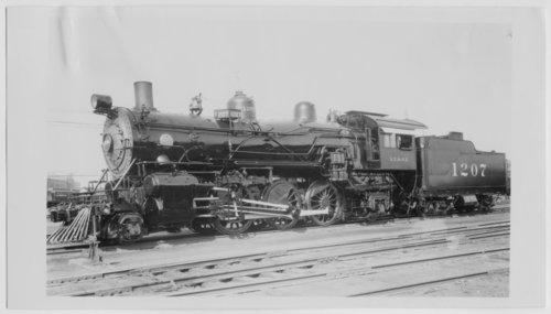 Atchison, Topeka & Santa Fe Railway Company's steam locomotive #1207 - Page