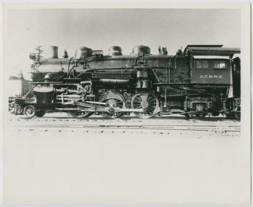 Atchison, Topeka & Santa Fe Railway Company's steam locomotive #1839 - Page