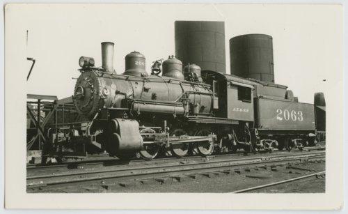 Atchison, Topeka & Santa Fe Railway Company's steam locomotive #2063 - Page