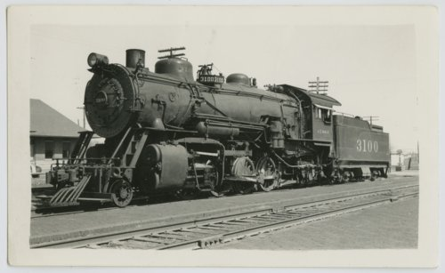 Atchison, Topeka & Santa Fe Railway Company's steam locomotive #3100 - Page