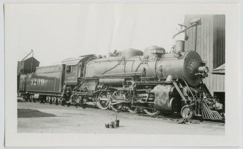 Atchison, Topeka & Santa Fe Railway Company's steam locomotive #3209 - Page
