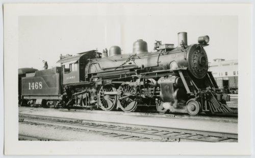Atchison, Topeka & Santa Fe Railway Company's steam locomotive #1468 - Page
