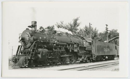 Atchison, Topeka & Santa Fe Railway Company's steam locomotive #3436 - Page
