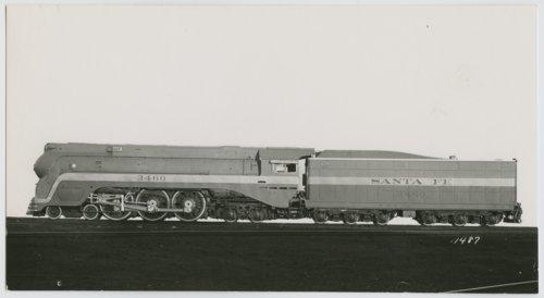 Atchison, Topeka & Santa Fe Railway Company's steam locomotive #3460 - Page