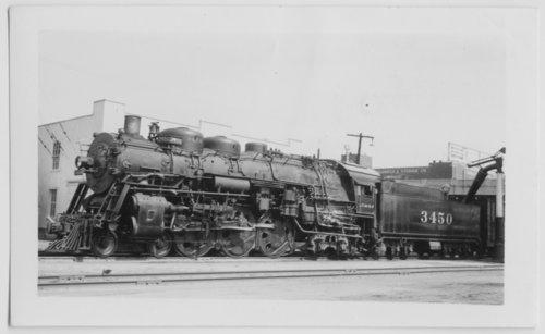 Atchison, Topeka & Santa Fe Railway Company's steam locomotive #3450 - Page