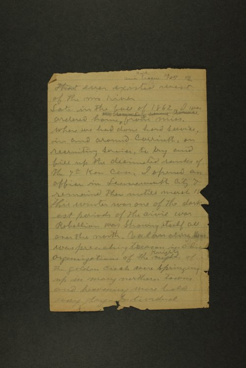 Union League of America history collection - Page