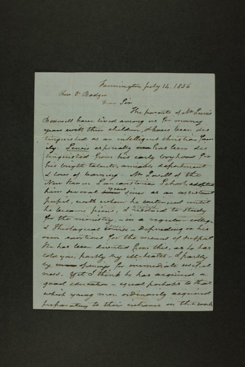 Lewis Bodwell papers - Page