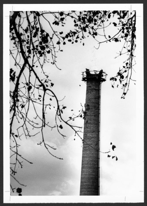 Smokestack on the Menninger Foundation campus in Topeka, Kansas - Page