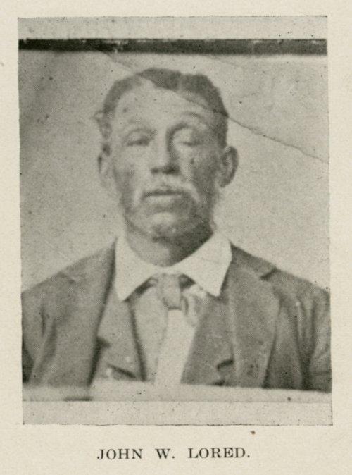 John W.  Lored - Page