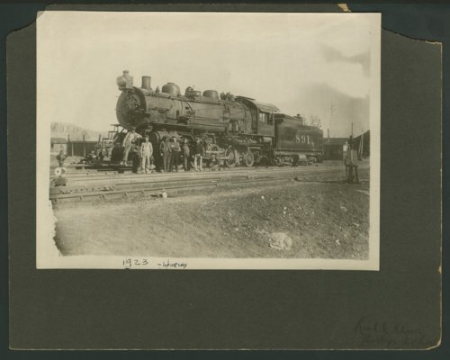 Atchison, Topeka and Santa Fe Railway Company's steam locomotive #891 - Page