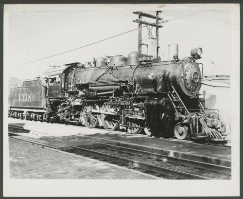 Atchison, Topeka & Santa Fe Railway Company's steam locomotive #1318 - Page