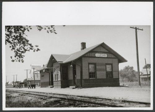 Union Pacific Railroad Company depot, Lucas, Kansas - Page